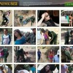 Dump premium border patrol sex