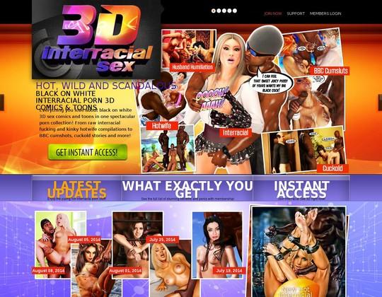 interracialsex3d.com