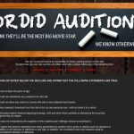 Sordid Auditions passwords