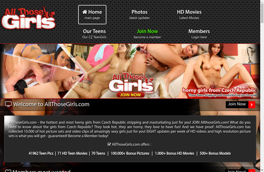 allthosegirls.com - All Those Girls