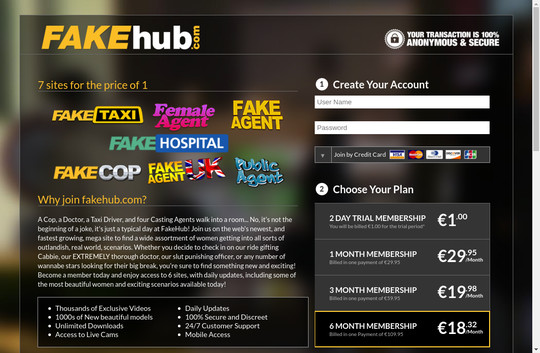 Fake Hub premium 2017 March