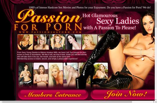 Passion For Porn premium access