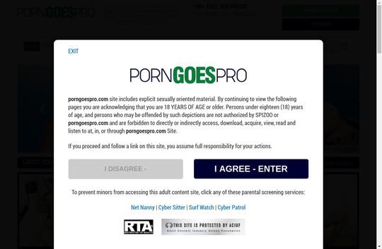 Porngoespro premium access