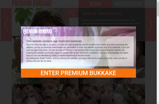 Premium Bukkake passwords