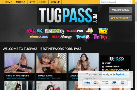 Tugpass.com passwords