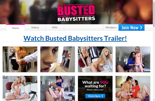 bustedbabysitters.com - Busted Baby Sitters