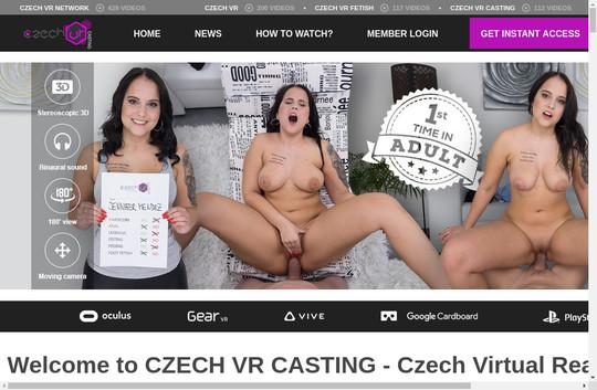 czechvrcasting.com - Czech Vr Casting