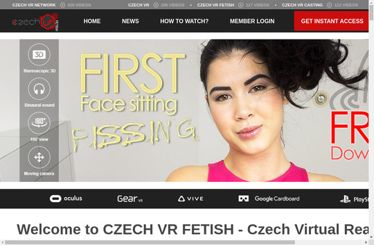 Czechvrfetish premium accounts