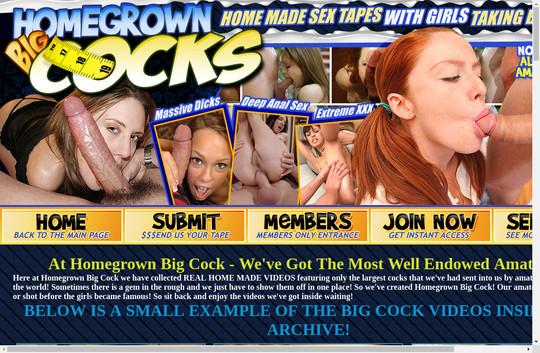 bigcock.homegrownvideo.com - Homegrown Big Cocks
