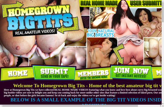 Homegrown Big Tits premium accounts