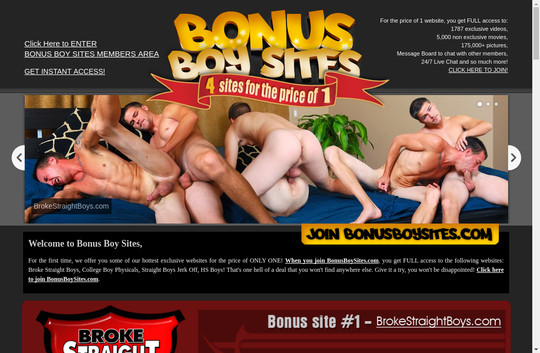 Bonusboysites full premium 2018 May