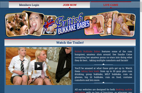 Britishbukkakebabes full premium 2018 May