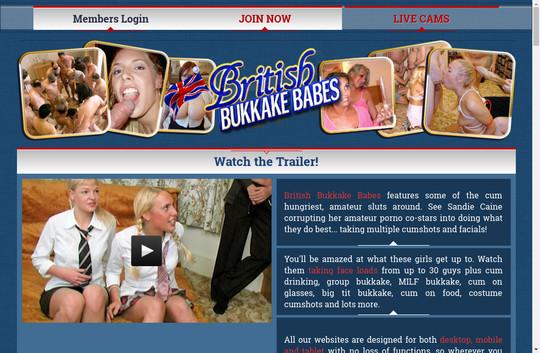 britishbukkakebabes.com - British Bukkake Babes