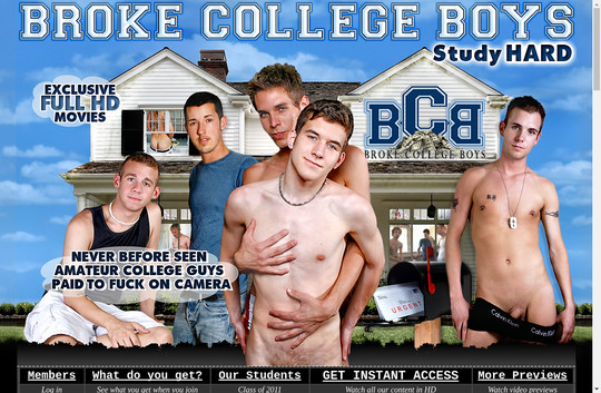Broke College Boys premium members
