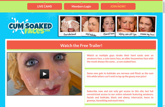 cumsoakedfaces.com - Cumsoakedfaces