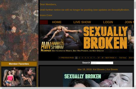 sexuallybroken.com - sexuallybroken.com