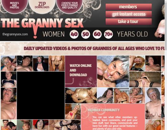 Thegrannysex.com full premium July 2019