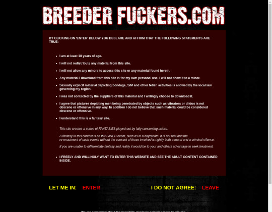 Breeder fuckers passwords