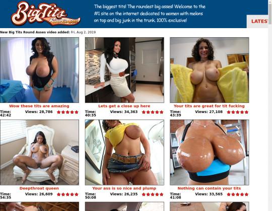 Big tits round asses full premium August 2019