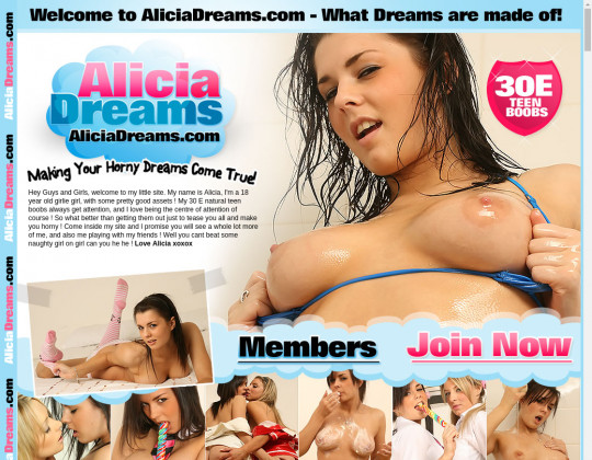 Alicia dreams premium access