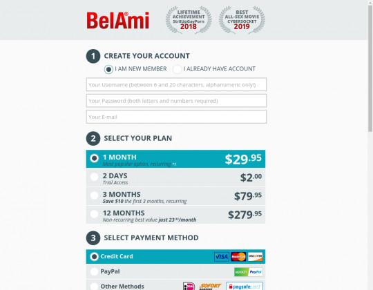 Free premium Club belami