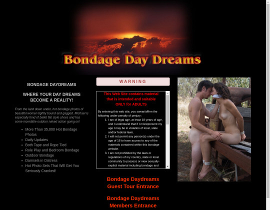 Free premium Bondage daydreams