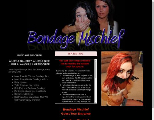 Bondage mischief premium access