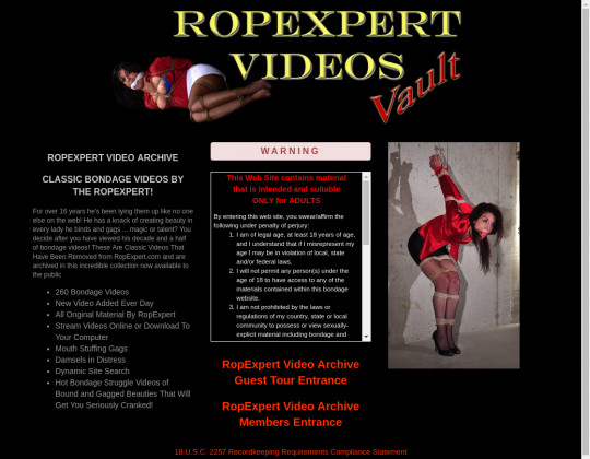 Ropexpert video archive passwords