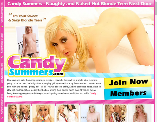 Candy summers passwords