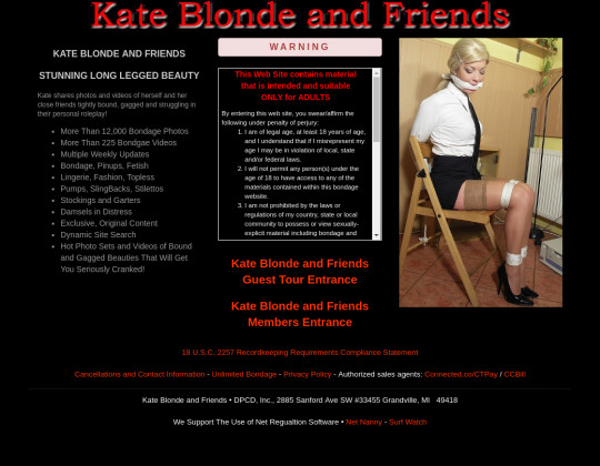 Kate blonde and friends premium access