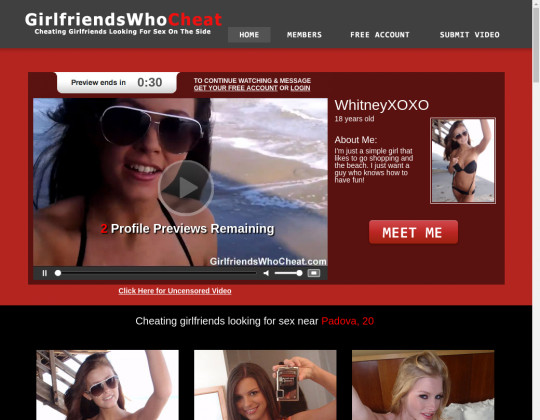 New premium Girlfriendswhocheat
