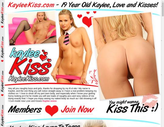 Fresh premium Kaylee kiss