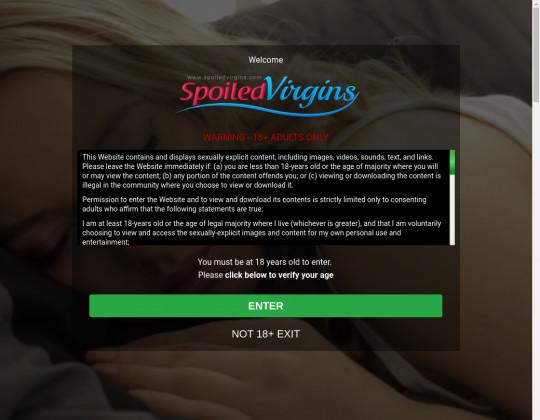 Fresh premium Spoiled virgins