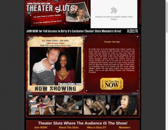 Theater sluts premium members