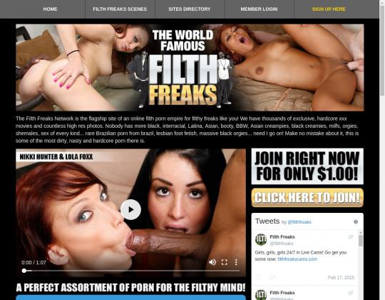 Login premium Phat black freaks