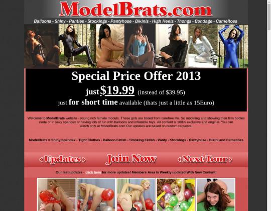 Modelbrats.com premium September 2019