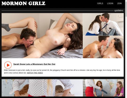 Dump premium Mormon girls