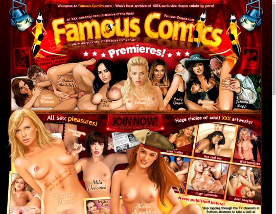 famous-comics.com - famous comics