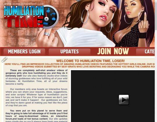 humiliiationtime.com - humiliiation time