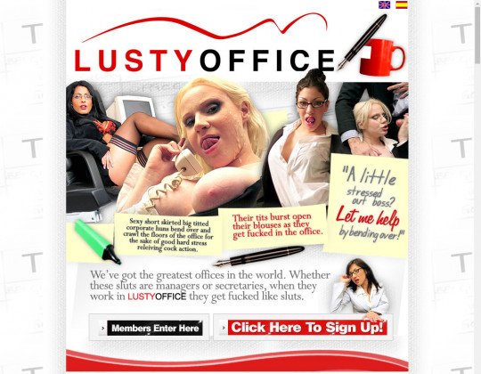 lustyoffice.com - lusty office