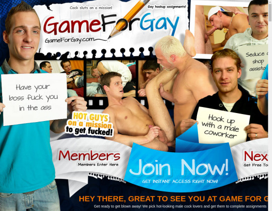 Game for gay premium October 2019