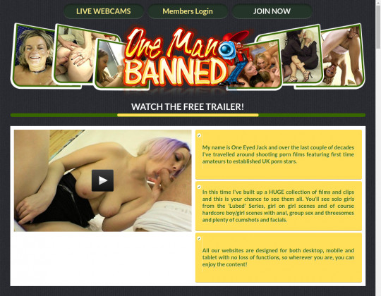 Onemanbanned.tv full premium October 2019