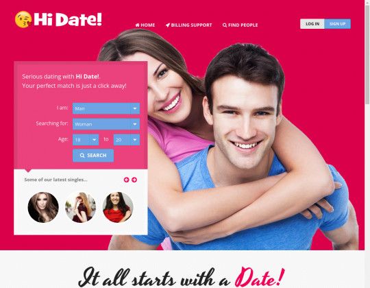 Hi date! passwords