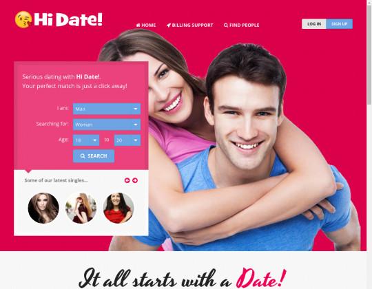 Hi date! passwords