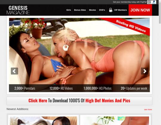 genesismagazine.com - genesis magazine