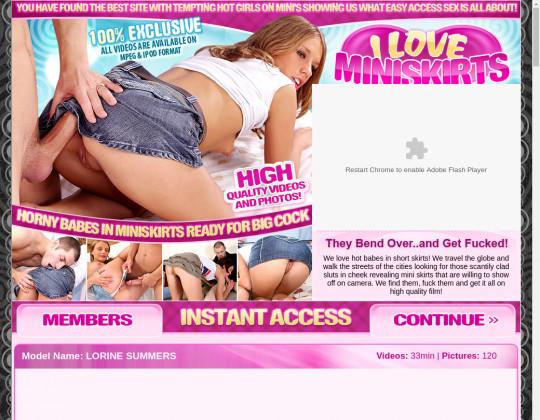 iloveminiskirts.com - i love miniskirts