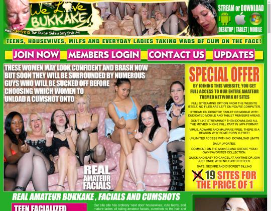welovebukkake.com - we love bukkake