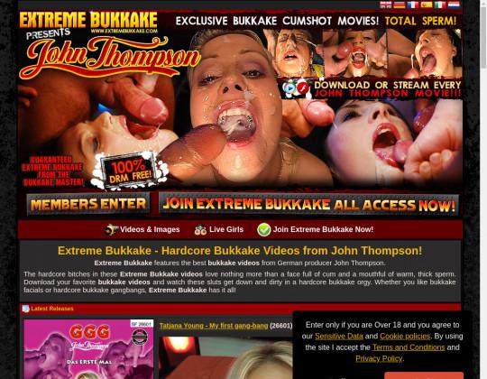 Free premium Extreme bukkake