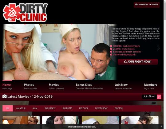 Dirtyclinic.com passwords