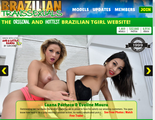 Brazilian transsexuals premium members